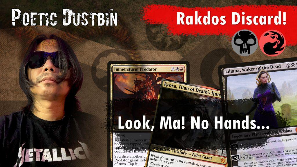 MTG Arena – Strixhaven Standard Rakdos Discard Deck with Valki of Lies, Kroxa and Immerstrum Predator