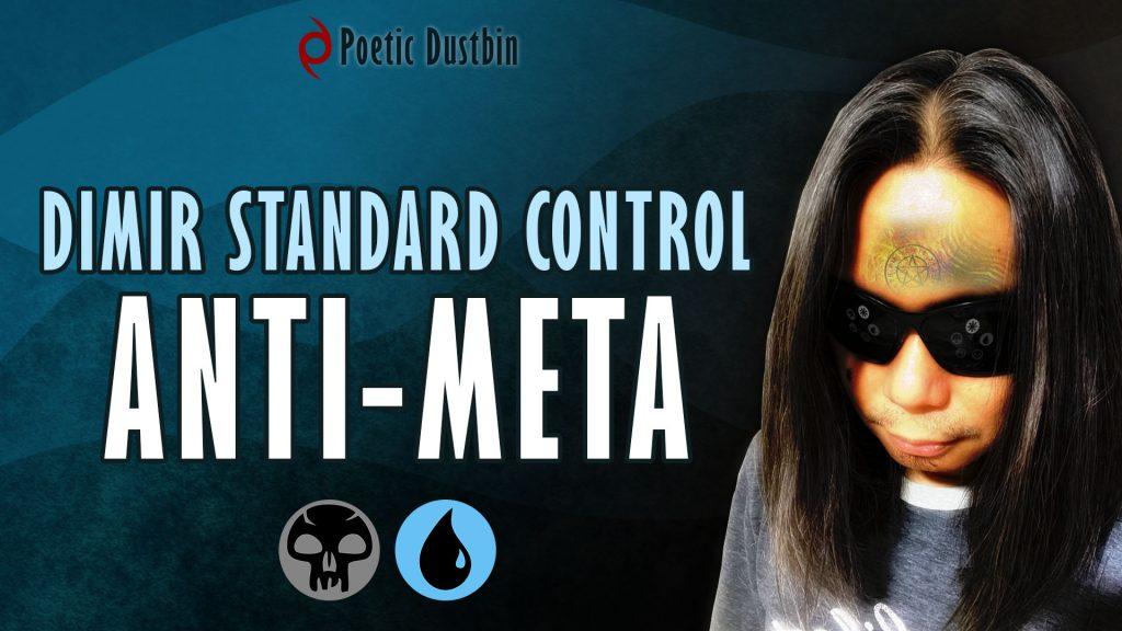MTG Arena - Standard Dimir Control Deck with Professor Onyx, Ashiok, Ugin and Tibalt Cosmic Impostor