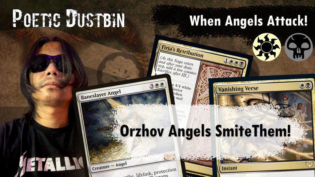 MTG Arena - Standard Strixhaven Orzhov Angel Deck with Yorion, Baneslayer Angel and Vanishing Verse