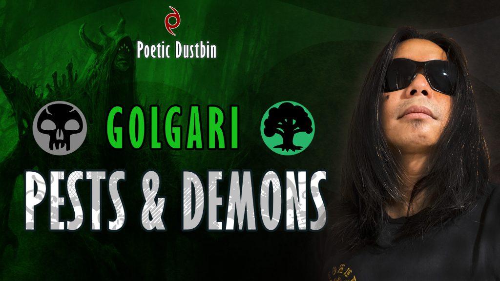 Golgari Demons and Pests Deck with Daemogoth Titan